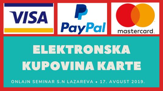 Instrukcije za uplatu ulaznice za seminar S.N. Lazareva - čitaoci iz inostranstva